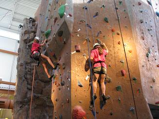 The physics of climbing - and falling