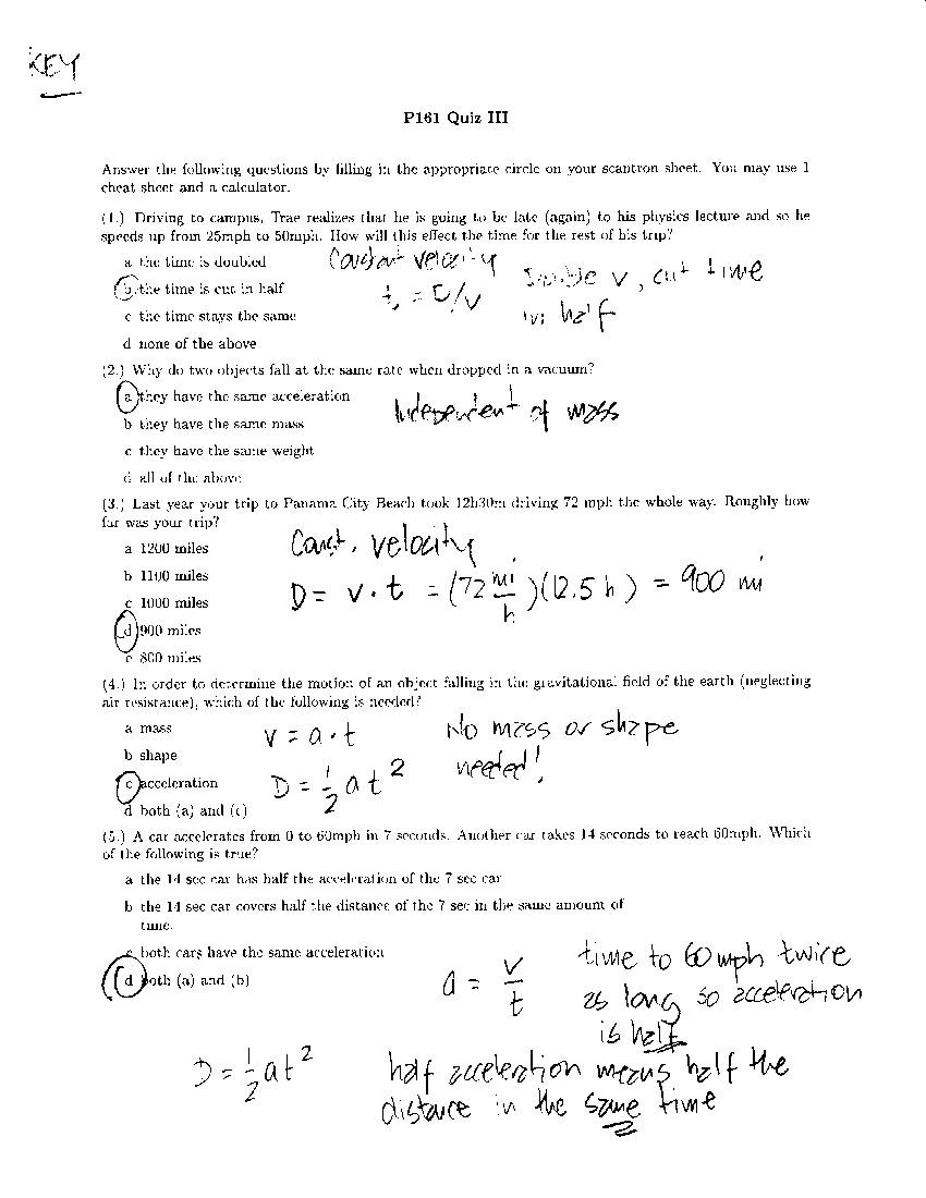 OSU Physics: Physics 161